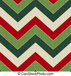 chevron seamless christmas pattern