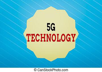 zigzag, empresa / negocio, 5g, texto, doce, concepto, redes, highspeed, estrella, radio, sistema, móvil, technology., dodecagon, sólido, 12, escritura, internet, palabra, color, polygon., nuevo, efecto, puntiagudo, generación, forma