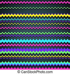 zigzag, fond