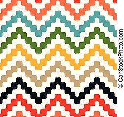 zigzag, modèle, seamless, chevron