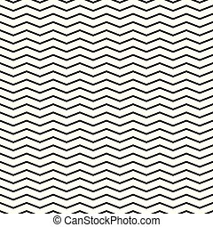 Zigzag pattern, seamless vector background. Abstract texture.
