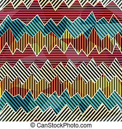 zigzag seamless pattern
