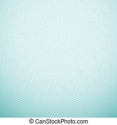 Zigzag seamless pattern. Vector illustration. Aqua, blue