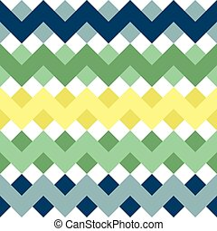 Zigzag Waves Seamless Pattern