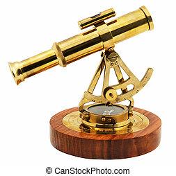 zijaanzicht, decoratief, astrolabe