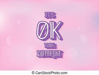 zijn, anders, ok, het is, quote., vector