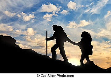 zijn, bereiken, portie, anderen, elke, partner, klimmer, uit