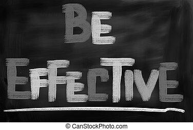 zijn, concept, effectief