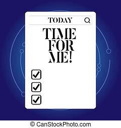 zijn, myself, concept, woord, happiness., zakelijk, verslappen, tekst, me., schrijvende , testament, moment, peinzen, nemen, tijd