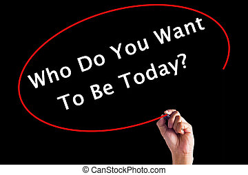 zijn, op, schrijvende raad, willen, teken, u, hand, transparant, vandaag