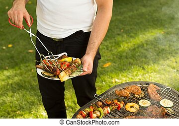 zijn, wat, barbecue?, beter, groenteblik, dan