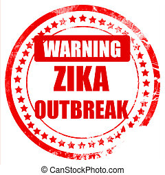 Zika virus concept background