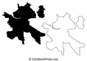 Zilina City map