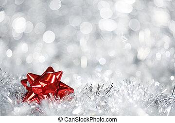 zilver, kerstmis, achtergrond