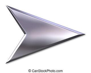 zilver, richtingwijzer