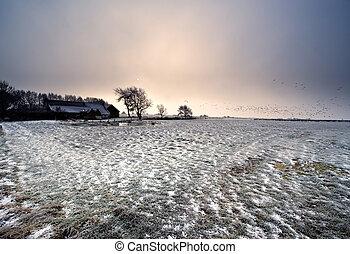 zima krajinomalba