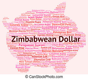 Zimbabwean Dollar Represents Foreign Currency And Currencies...