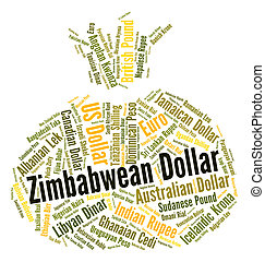 Zimbabwean Dollar Shows Forex Trading And Currency - ...