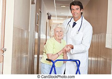 zimmerframe, docteur femme