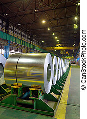 zinc-coated steel coil
