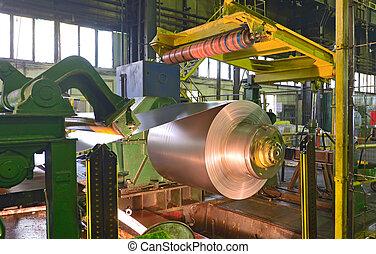 Zinc coils of steel