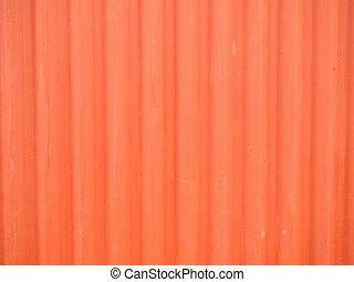 zinc red color