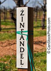 Zinfandel Wine Marker