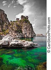 zingaro, sicilia, reserva, natural