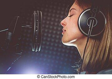 zinger, gedresseerd, hartstocht