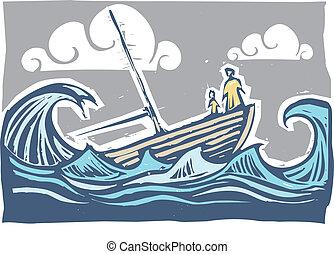 zinkende boot, #3