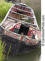 zinkende boot