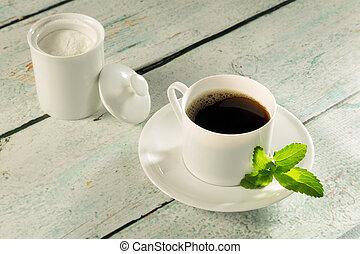 ziołowy, stevia, sweetener