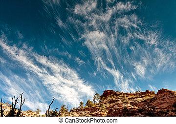 Zion cloudscape