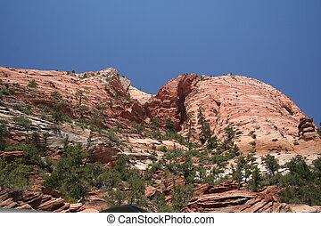 Zion National Park Rock Formations