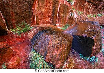 Zion National Park Rocky Scenery