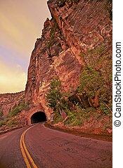 Zion Utah Tunnel