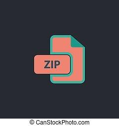 ZIP computer symbol