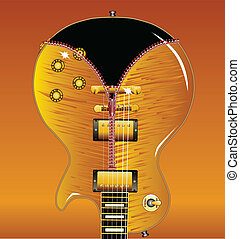 Zipper Guitar