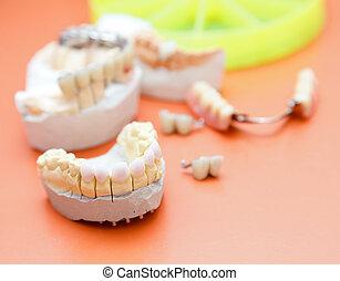 zircon, dents