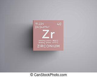 Zirconium form periodic table of elements v2 zirconium clip zirconium transition metals chemical element of mendeleevs periodic table urtaz Gallery