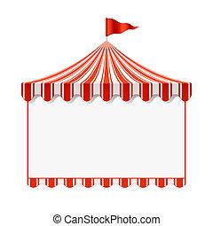 zirkus, hintergrund