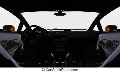 zitplaats van de bestuurder