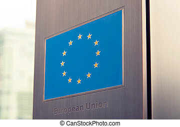zjednoczenie, seria, -, bandery, europejczyk