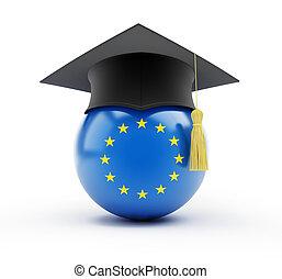 zjednoczenie, wykształcenie, europejczyk