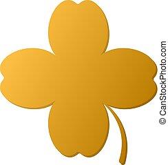 zlatý, 4 list jetel