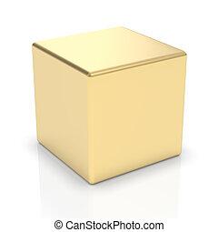 zlatý, běloba trojmocnina, 3