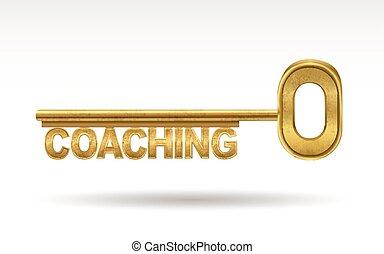 zlatý, coaching, -, klapka