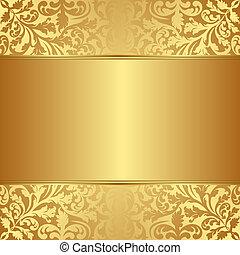 zlatý, grafické pozadí