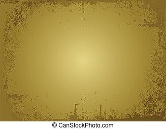 zlatý, pergamen