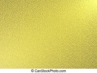 zlatý, tkanivo
